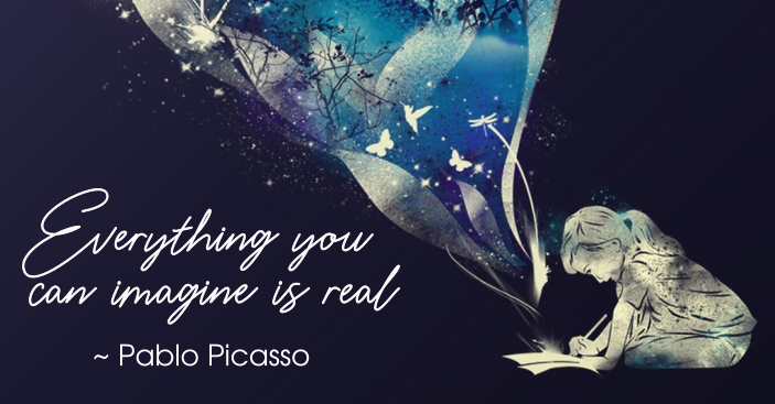 Pablo Picasso quote | Everything you can imagine is real