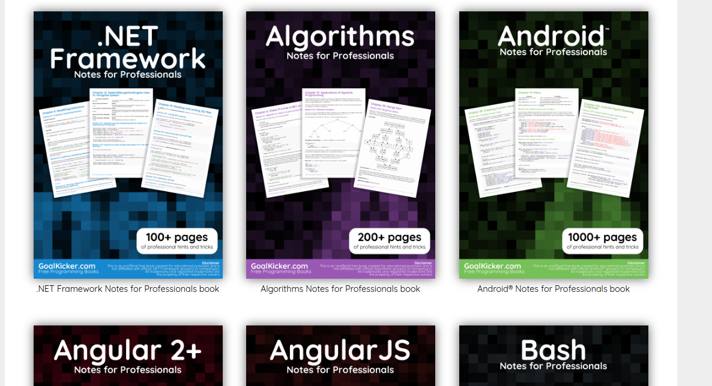 Free Programming Books; HTML5, CSS3, JavaScript, PHP, Python