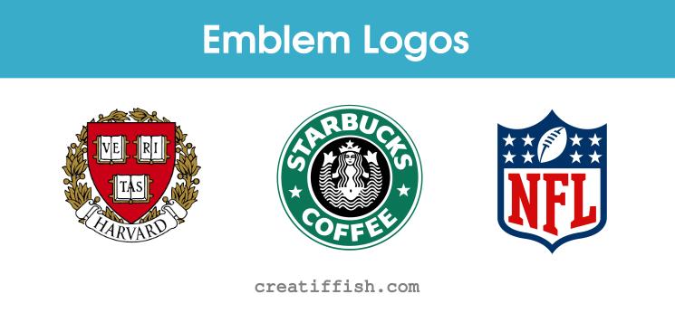Famous emblem logos