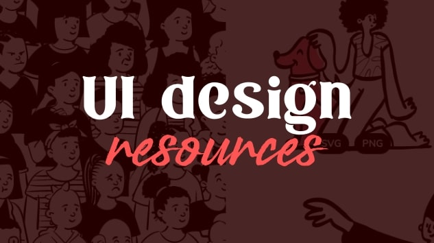 UI design resources for designers