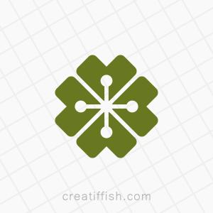 Lucky clover technology logo