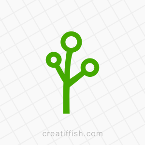 Technology tree branches logo